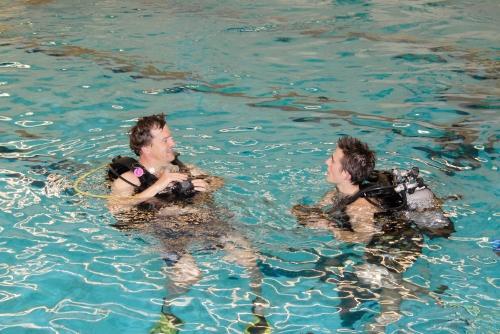 Duikvereniging Get Wet Den Haag zwembad Overbosch